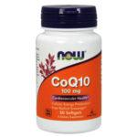 Now Foods CoQ10 100mg 50 Softgels