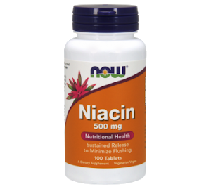 Now Foods Niacin 500mg
