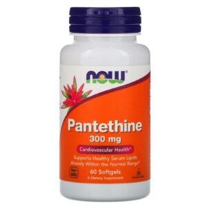 now foods pantethine 300